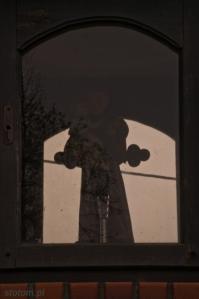 Serock |figura w kapliczce św. Antoniego | od północnego-zachodu | stan na 2015-02-18