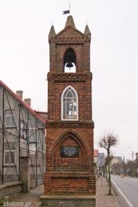 Kuźnica   kapliczka św. Antoniego   od północnego-zachodu   stan na 2013-12-12