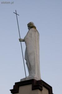 Pisz   figura św. Jana   od północnego-zachodu   stan na 2014-07-17