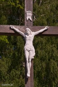 Pogorzelica   krzyż   od południa   stan na 2014-05-21