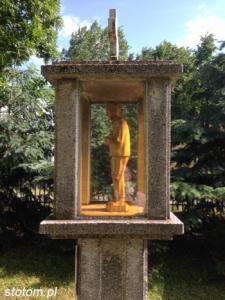 Toruń | kapliczka św. Maksymiliana Marii Kolbego | od północnego-wschodu | stan na 2014-06-10