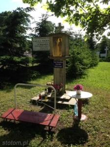 Toruń | kapliczka św. Maksymiliana Marii Kolbego | od północy | stan na 2014-06-10