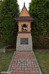 Bukowina Tatrzańska | kapliczka Chrystusa Frasobliwego | widok ogólny | od południowego-wschodu | stan na 2015-07-17
