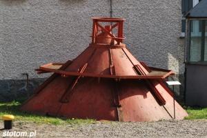 Druga kopuła z helskiej latarni z 1942 roku | 21-05-2010