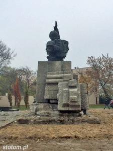 Toruń   pomnik Artylerii Polskiej   widok ogólny   od północnego-zachodu   stan na 2015-11-03
