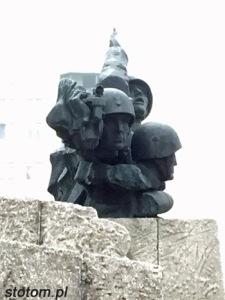 Toruń   pomnik Artylerii Polskiej   fragment   od południowego-wschodu   stan na 2015-11-03