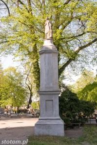 Kruszwica | figura św. Wawrzyńca | widok ogólny | od południa | stan na 2016-05-07