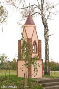 Kisielice | kapliczka św. Antoniego | widok ogólny |  od południowego-zachodu | stan na 2016-10-12