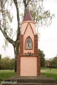 Kisielice | kapliczka św. Antoniego | widok ogólny |  od zachodu | stan na 2016-10-12