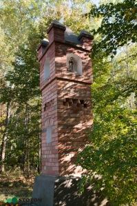 Szramowo   kapliczka   widok ogólny   od południowego-zachodu   stan na 2016-09-15