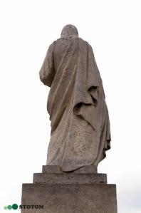 Busko-Zdrój | figura Jezusa Chrystusa | fragment | od północnego-zachodu | stan na 2016-07-16