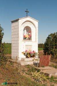 Kruszynki | kapliczka Matki Boskiej | widok ogólny | od południowego-zachodu | stan na 2016-09-15