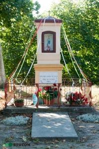 Chojno | kapliczka Matki Boskiej | widok ogólny | od wschodu | stan na 2016-09-15