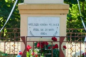 Chojno | kapliczka Matki Boskiej | fragment | od wschodu | stan na 2016-09-15