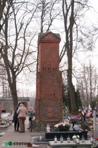 Toruń | kapliczka cmentarna Matki Boskiej w Kaszczorku | widok ogólny | od północnego-wschodu | stan na 2017-01-26