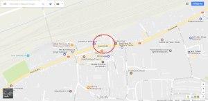 Lokalizacja Browaru Pomorskiego   źródło: google maps