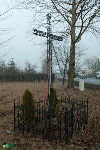 Gronowo | krzyż | widok ogólny | od południowego-zachodu | stan na 2017-02-17